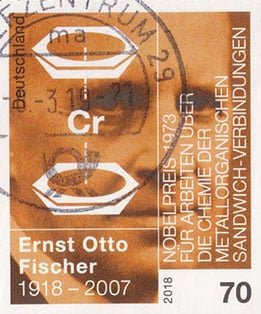 Ernst_Otto_Fischer_Stamp_Germany_2018