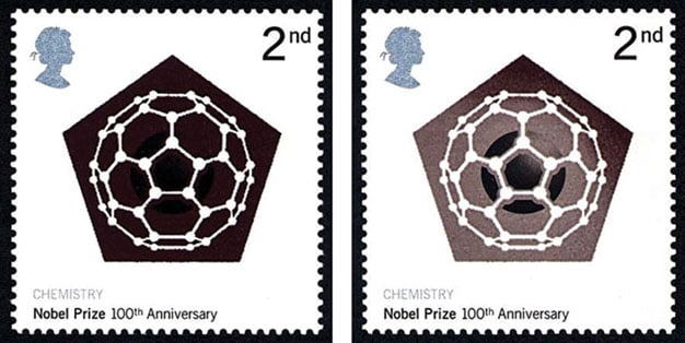 fullerenes-nobel-prize-stamps