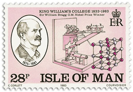 william henry bragg stamp